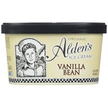[Aldens Ice Cream]  Vanilla Bean  At least 95% Organic