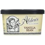 [Aldens Ice Cream]  Vanilla Bean  At least 95% Organic