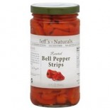 [Jeff`S Naturals] Peppers Red Pepper Strips, Roasted