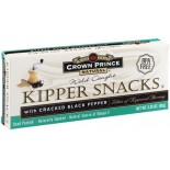 [Crown Prince] Kipper Snacks Cracked Black Pepper