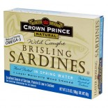 [Crown Prince] Seafood/Fish-Sardines In Water, Brisling