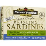 [Crown Prince] Seafood/Fish-Sardines In Olive Oil, Brisling
