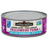 [Crown Prince] Seafood/Fish-Tuna Yellowfin in Water, Pole Caught