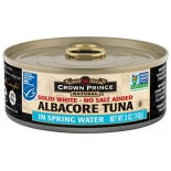 [Crown Prince] Seafood/Fish-Tuna Albacore, No Salt