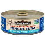 [Crown Prince] Seafood/Fish-Tuna Tongol In Spring Water, No Salt