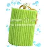 [Earth Therapeutics, Ltd.] Exfoliation Accessories: Loofah Super Loofah Body Scrubber, Green