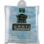[Earth Therapeutics, Ltd.] Body Care Spa Accessories Terry Covered Bath Pillow, Green