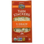 [Lundberg Family Farms]  Thin Stacker, Five Grain  At least 95% Organic