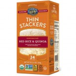 [Lundberg Family Farms]  Thin Stacker, Red Rice & Quinoa  At least 95% Organic