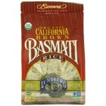 [Lundberg Family Farms] Grains California Brown Basmati Rice  At least 95% Organic