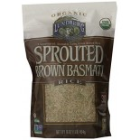 [Lundberg Family Farms]  Rice, Sprtd, Brown Basmati  At least 95% Organic