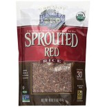 [Lundberg Family Farms]  Rice, Sprouted, Red  At least 95% Organic