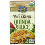[Lundberg Family Farms] Whole Grain Rice & Seasoning Mix Quinoa & Rice Basil/Bell Pepper  At least 95% Organic