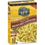 [Lundberg Family Farms] Roasted Brown Rice Couscous Mediterranean Curry  At least 70% Organic