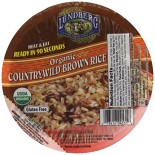 [Lundberg Family Farms] Heat & Eat Rice Bowls Brown Rice, Countrywild  At least 95% Organic