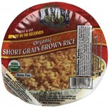 [Lundberg Family Farms] Heat & Eat Rice Bowls Brown Rice, Short Grain  At least 95% Organic