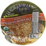 [Lundberg Family Farms] Heat & Eat Rice Bowls Brown Rice, Long Grain  At least 95% Organic