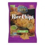 [Lundberg Family Farms] Rice Chips Wasabi  At least 70% Organic