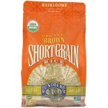 [Lundberg Family Farms] Grains Rice, Short Grain, Brown  100% Organic