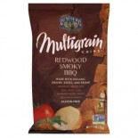 [Lundberg Family Farms] Multigrain Chips Redwood Smoky BBQ  At least 70% Organic