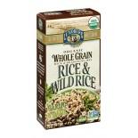 [Lundberg Family Farms] Whole Grain Rice & Seasoning Mix Rice & Wild Rice, Garlic Basil  At least 95% Organic