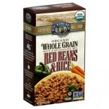 [Lundberg Family Farms] Whole Grain Rice & Seasoning Mix Red Beans  At least 95% Organic