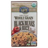 [Lundberg Family Farms] Whole Grain Rice & Seasoning Mix Black Beans  At least 95% Organic