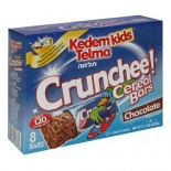 [Kedem] Kosher Kids Cereal Bars Crunchee! Chocolate 8 Pk