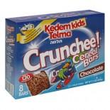 [Kedem] Kosher Kids Cereal Bars Crunchee! Chocolate 8 Pk