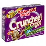 [Kedem] Kosher Kids Cereal Bars Crunchee! Crispy Cookie 8 Pk