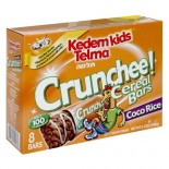 [Kedem] Kosher Kids Cereal Bars Crunchee! Coco Rice 8 Pk