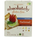 [Absolutely Gluten Free]  Flatbreads, Original