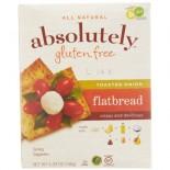[Absolutely Gluten Free]  Flatbreads, Toasted Onion