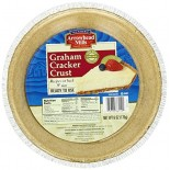 [Arrowhead Mills] Pie Crusts, Shelf Stable Graham Cracker, 9