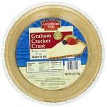 [Arrowhead Mills] Pie Crusts, Shelf Stable Graham Cracker, 9