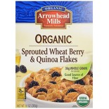 [Arrowhead Mills] Organic Instant Oatmeals Sprouted Wheat Berry/Quinoa Flakes  At least 95% Organic