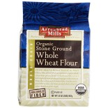 [Arrowhead Mills] Flours Stone Ground, Whole Wheat  At least 95% Organic