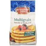 [Arrowhead Mills] Mixes Pancake & Waffle, Multi Grain  At least 70% Organic