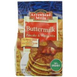 [Arrowhead Mills] Mixes Pancake & Waffle, Buttermilk  At least 70% Organic