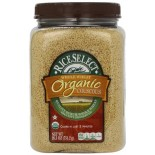 [Rice Select] Couscous Tubs Couscous, Whole Wheat  At least 95% Organic