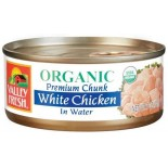 [Valley Fresh] Canned Chicken White Chicken In Water  At least 95% Organic