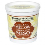 [Westbrae] Macrobiotic Products Miso, Light Yellow  At least 95% Organic