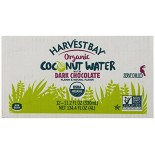 [Harvest Bay] Beverages Coconut Water, Dark Chocolate  At least 95% Organic
