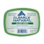 [Clearly Natural] Glycerine Soap Aloe Vera