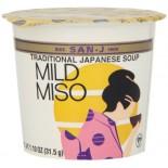 [San-J] Miso Soup Cups Soup, Miso, Cup, Mild