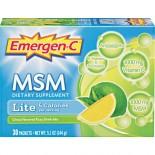 [Emergen C]  Lite MSM