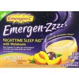 [Emergen C] Nightime Sleep Aid w/Melatonin Peach PM