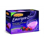 [Emergen C] Nightime Sleep Aid w/Melatonin Mellow Berry