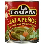 [La Costena] Mexican/Authentic Pickles/Peppers/Relish Jalapeno, Whole
