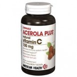 [American Health] Chewable Vitamin C Acerola Plus 100 mg